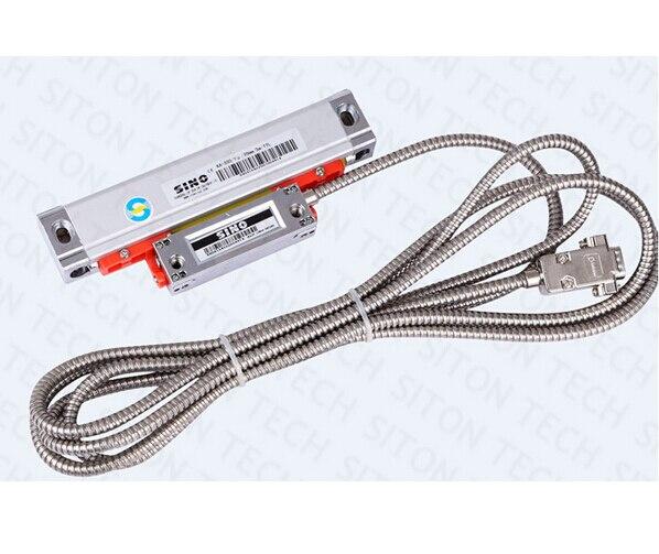Free shipping high precision lathe and milling 0 005mm 0 001mm Sino KA300 770mm linear encoder