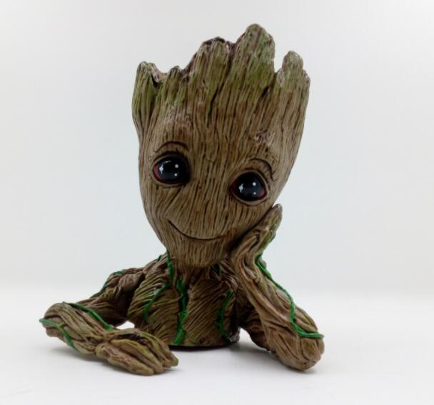 18CM Anime movie figure Guardians of the Galaxy tree man action figure collectible model toys for boys girls 2016 new arrival the guardians galaxy mini dancing tree man action figure model toy doll