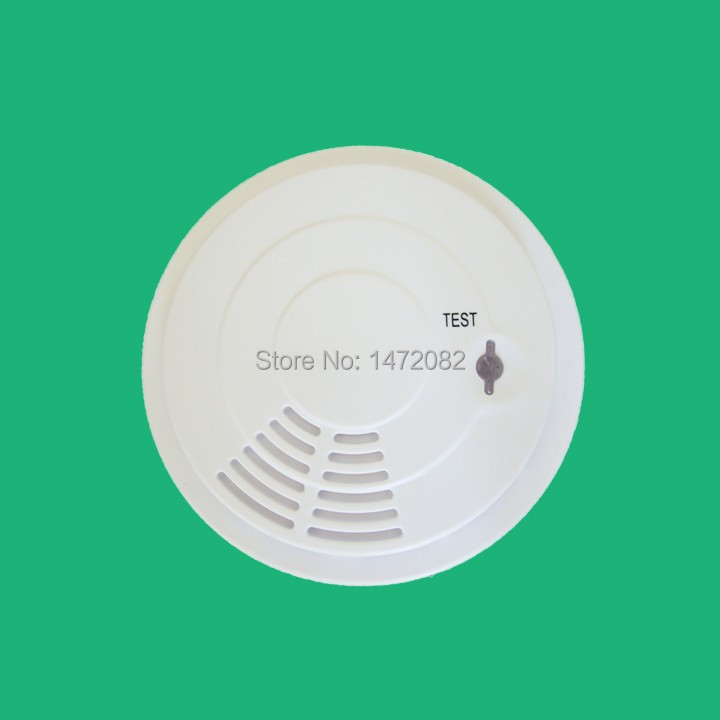 Portable High Sensitive Stable Photoelectric Wireless Smoke Detector Fire Alarm Sensor for Supermarket Home Security Safety 5pcs 433mhz sensor sensitive photoelectric home security system cordless wireless smoke detector fire alarm for home protection