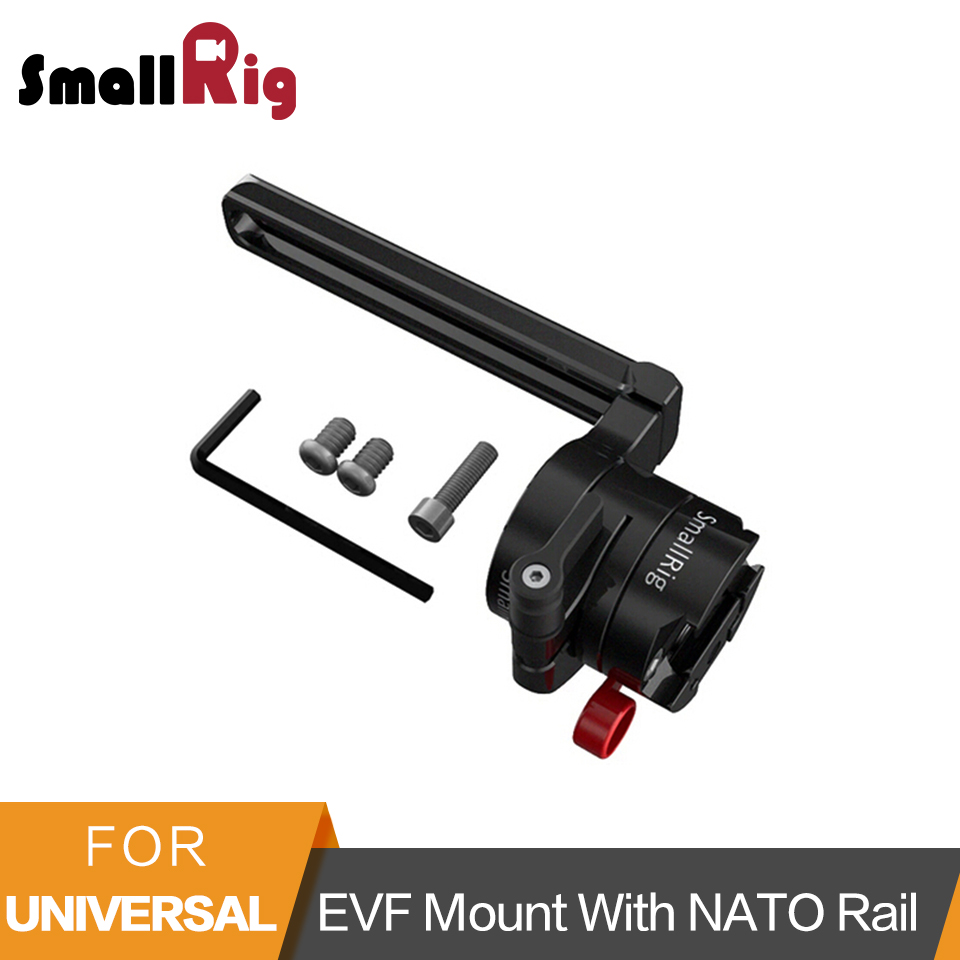 SmallRig EVF Mount with NATO Rail To Mount EVF /Monitor/Camera Rig -2113