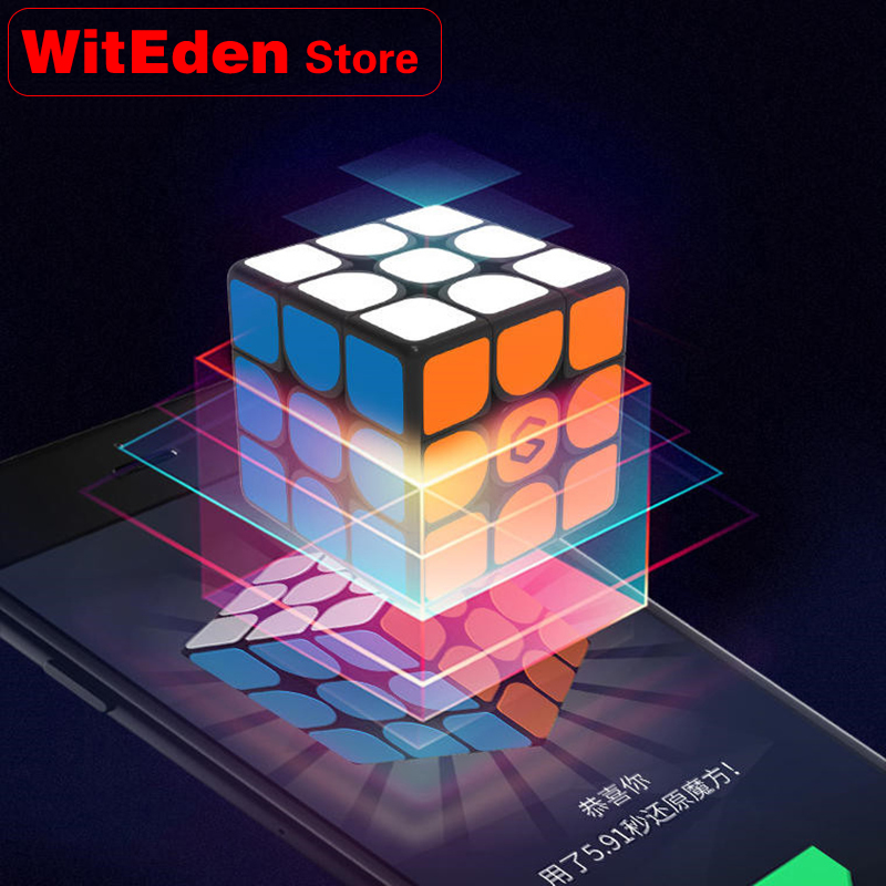 3x3x3 Magic Cube Magnetic 3x3 Magnets Super Smart Professional Speed Puzzle Fidget Antistress Educational Toys Xiaomi