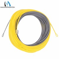 Free Shipping WF5F High Quality Weight Forward FLOATING Fish Line With WELDED LOOPS 100FT 5WT Fly