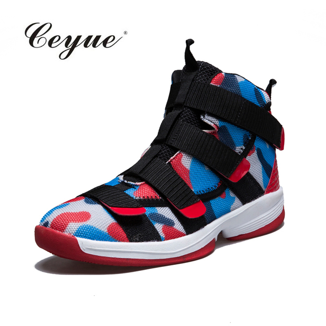 2018 Brand Women Basketball Shoes Professional Sneakers Lebron James Shoes  High top Basket Sports Shoes Lace up basket homme 02169b67a7