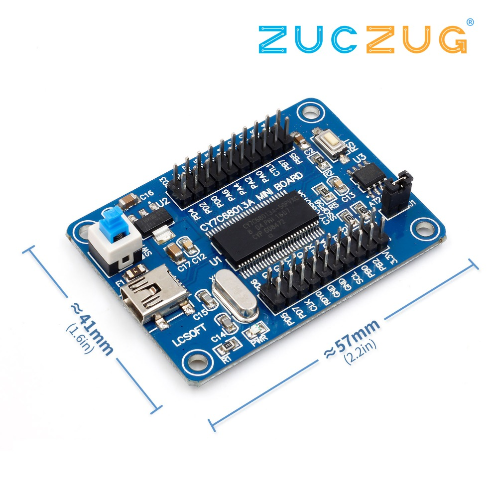 EZ-USB FX2LP CY7C68013A USB Logic Analyzer Core Board+Source Code