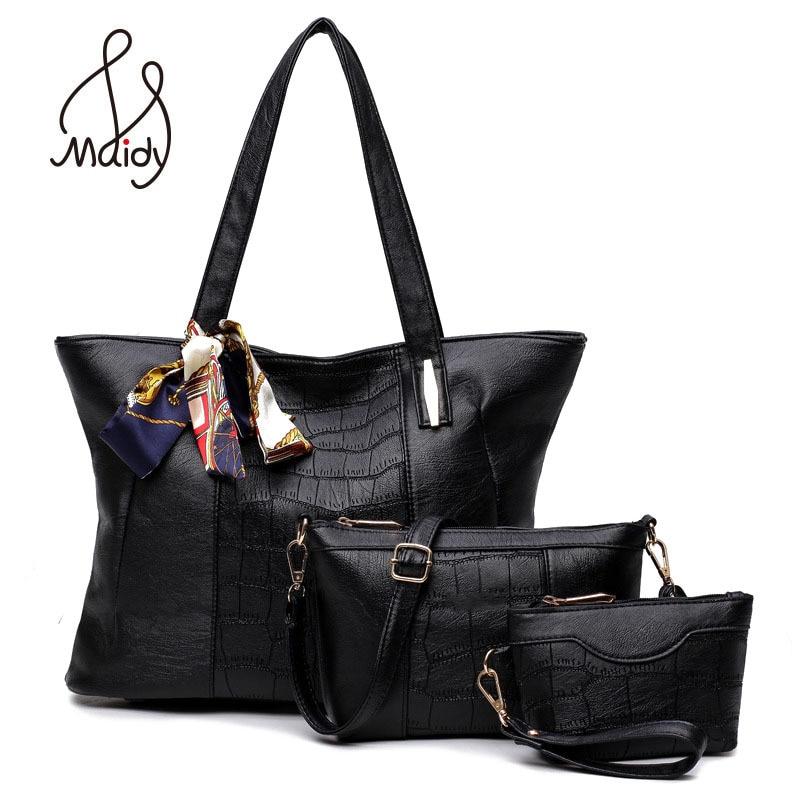 Vintage Brand Layer Women Leather Messenger Bags Shoulder Tote font b Handbag b font Composite Snake