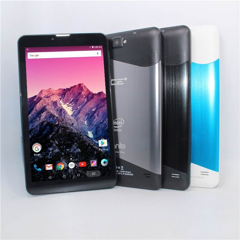 7-inch TabletPCsupport 3G Phone Call Intel Atom Sofia 3GR  Quad Core Andriod 5.1 1+8GB  Bluetooth 1024 X 600