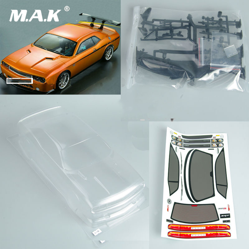 190mm 1/10 RC Car PC Clear BODY SHELL for Dodge viper SRT8 190mm PC 201205 Car Accessories 1 10 rc car 190mm on road drift rally subaru body shell blue