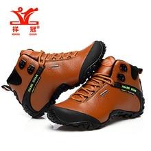Botas de Mujeres Original brand High-top Trekking Hiking Shoes Woman Sport Boots Climbing Genuine Leather Waterproof Sneakers