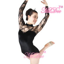 Lace Leotard Ballet Dance Costume Modern Dance Clothing Gymnastics Competition Costumes For Girls