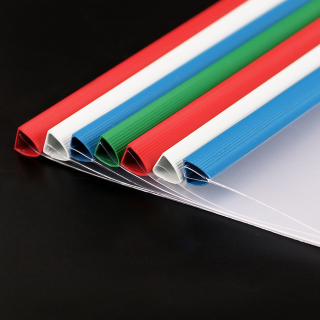 1PC Waterproof Pull The Pole Clip File Folder A4 Transparent Plastic Insert Pages Thicken Folder Filing Products Office Supplies