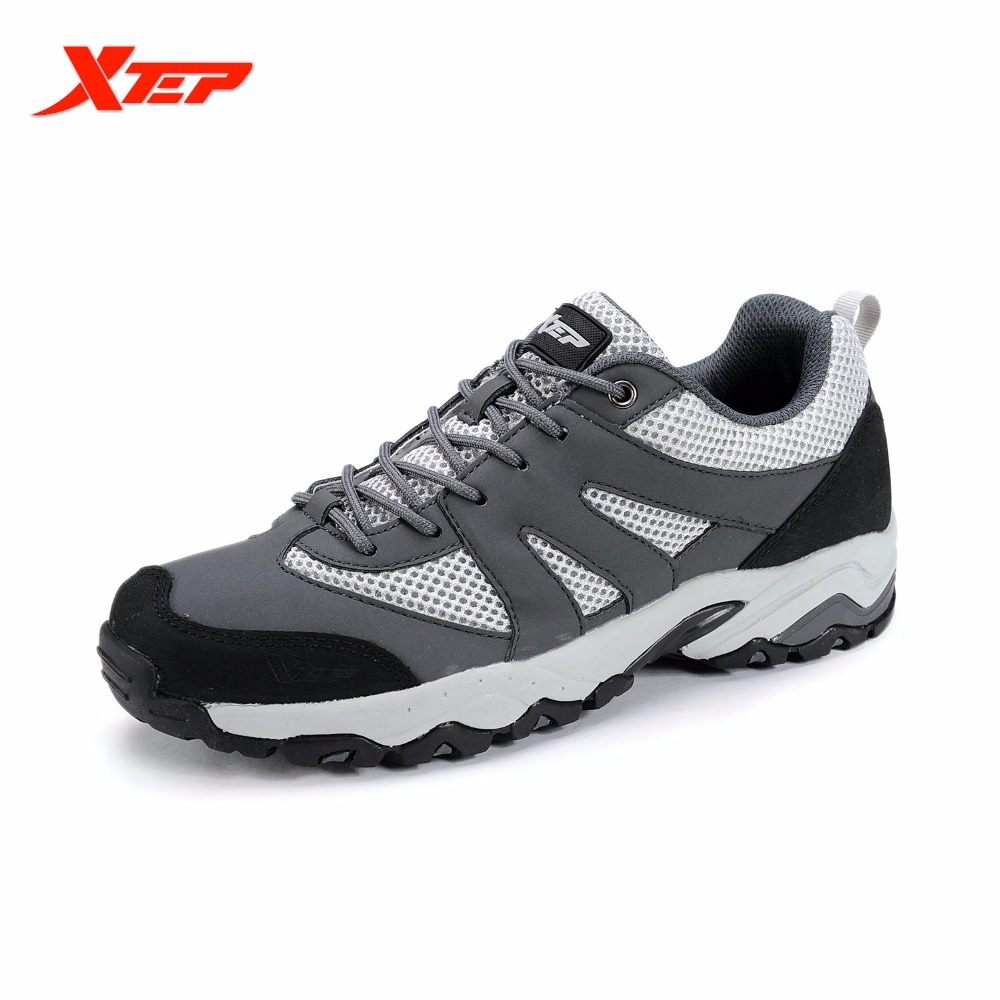 ФОТО XTEP New Men's Ourdoor Hiking Climbing Shoes Trail Shoes Anti-skid Rubber Trekking Mountain Athletic Sport Sneakers 986119179216