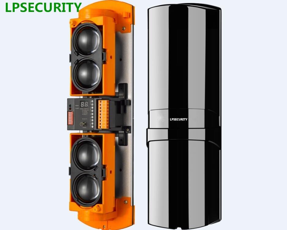 LPSECURITY 100 m 150 m 250 m IP65 4 faisceau de sécurité faisceau capteur ALEAN alarme faisceau barrières pour GSM système d'alarme protection perimete