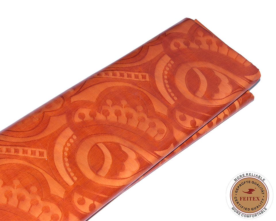 Guinea Broccato di Trasporto libero 5/Yards Tessuto di Cotone Bazin Riche Vestito da Partito Africano Tessile FEITEX-in Tessuto da Casa e giardino su  Gruppo 2