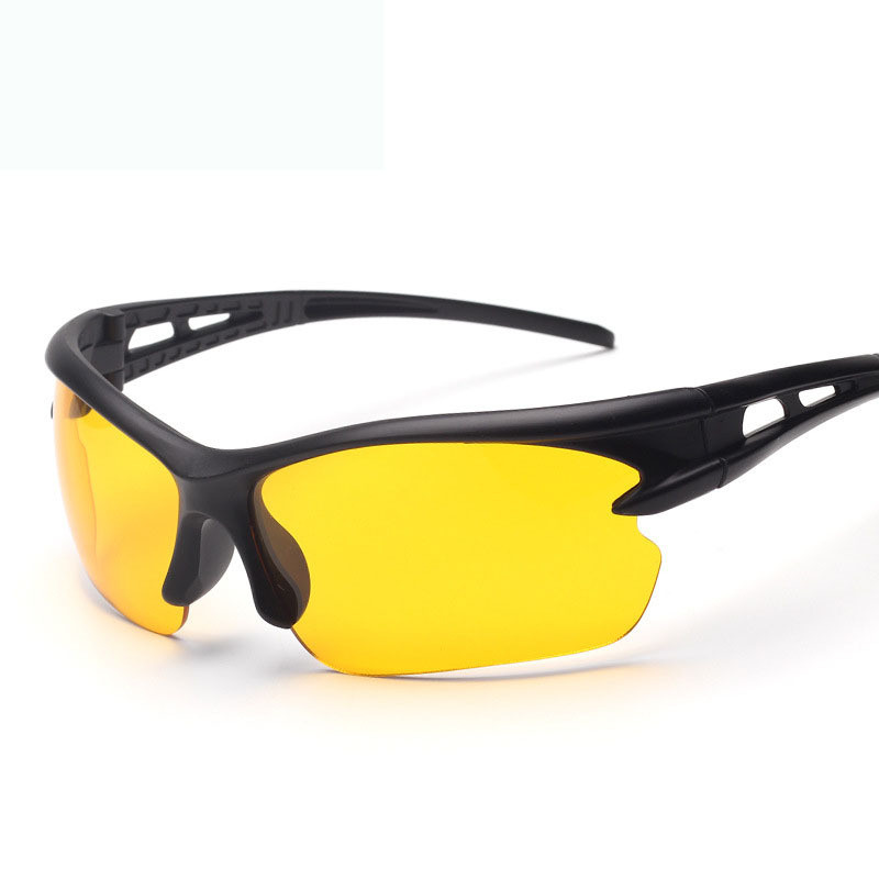 Drivers Night Anti Light Vision Goggles Night-vision Glasse Anti Night With Luminous Driving Glasses Protective Gears Sunglasses