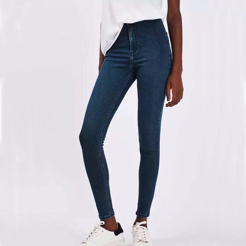 Jeans for Women Jeans Woman High Elastic plus size Stretch Jeans female washed denim skinny pencil pants