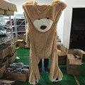 Huge 260cm USA Giant Bear Skin Empty Soft Toys  Hull,Big Bear Plush Gifts Love Toys for Girls HT3774