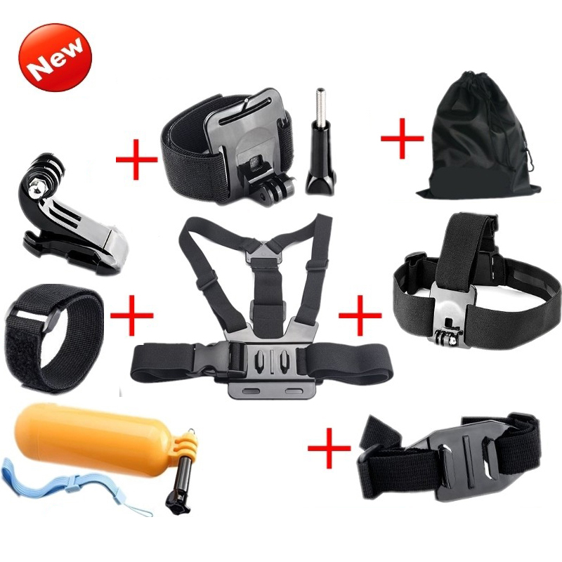 Action Cam Accessories Chest Head Strap Floating Bobber Mount for XiaoYi SJCAM SJ4000/SJ4000wifi/SJ7 Star SJ6