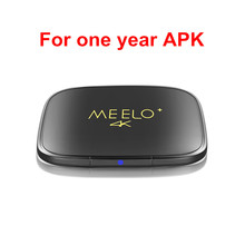 Genuine Meelo 4K for 1 year APK Amlogic S905X TV Box Android 6 0 Marshmallow 1G