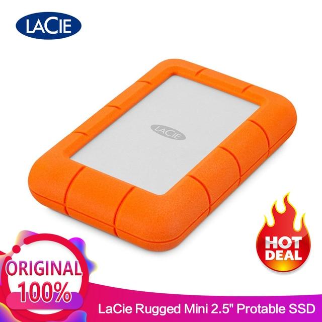 """Seagate LaCie Rugged Mini External HDD 1TB 2TB 4TB USB 3.0 5400RPM 2.5"""" Portable Hard Drive 100% 0riginal"""