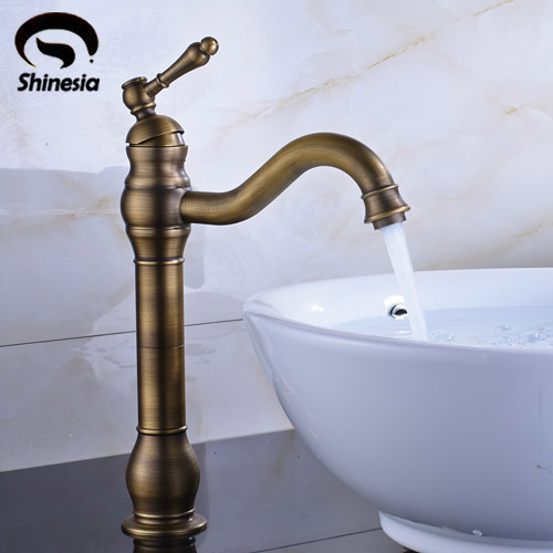 Solid Brass Bathroom Basin/Sink Faucet Single Handle Hole Vanity Sink Mixer Tap single handle golden swan faucet bathroom basin faucet vanity sink mixer tap