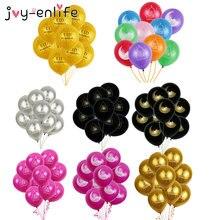 Balões de látex para decoração de festas, balões de festas felizes de eid mubarak, globos, eid, adha, 10 peças balão de decoração