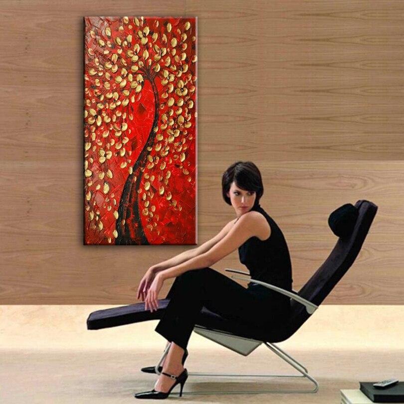 Lukisan minyak, Tangan dicat dekorasi rumah lukisan, Kualitas tinggi - Dekorasi rumah - Foto 4