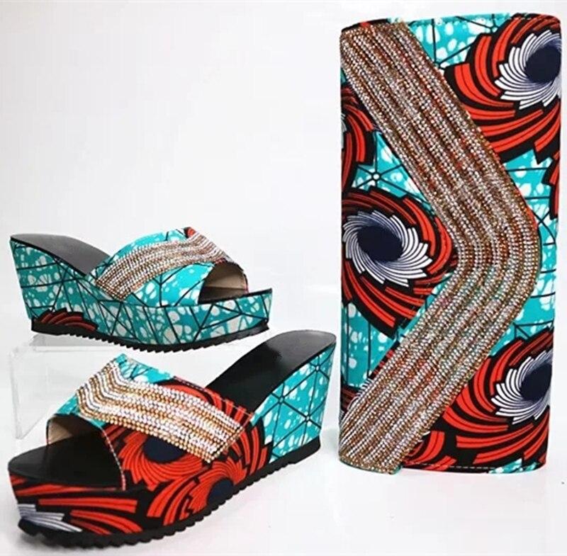Avec Nouveau Chaussures Ensemble Chaussure 5 Sac Italiennes Design Et 1 Fête Dames 4 Femmes Assorti Pour Correspondant Africaine 2 3 WtYwqx8vqR