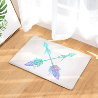 Arrow Carpet Flannel Rugs and carpets Area rug for living room Water absorption Non slip 40x60cm Home Alfombras de sala tapetes