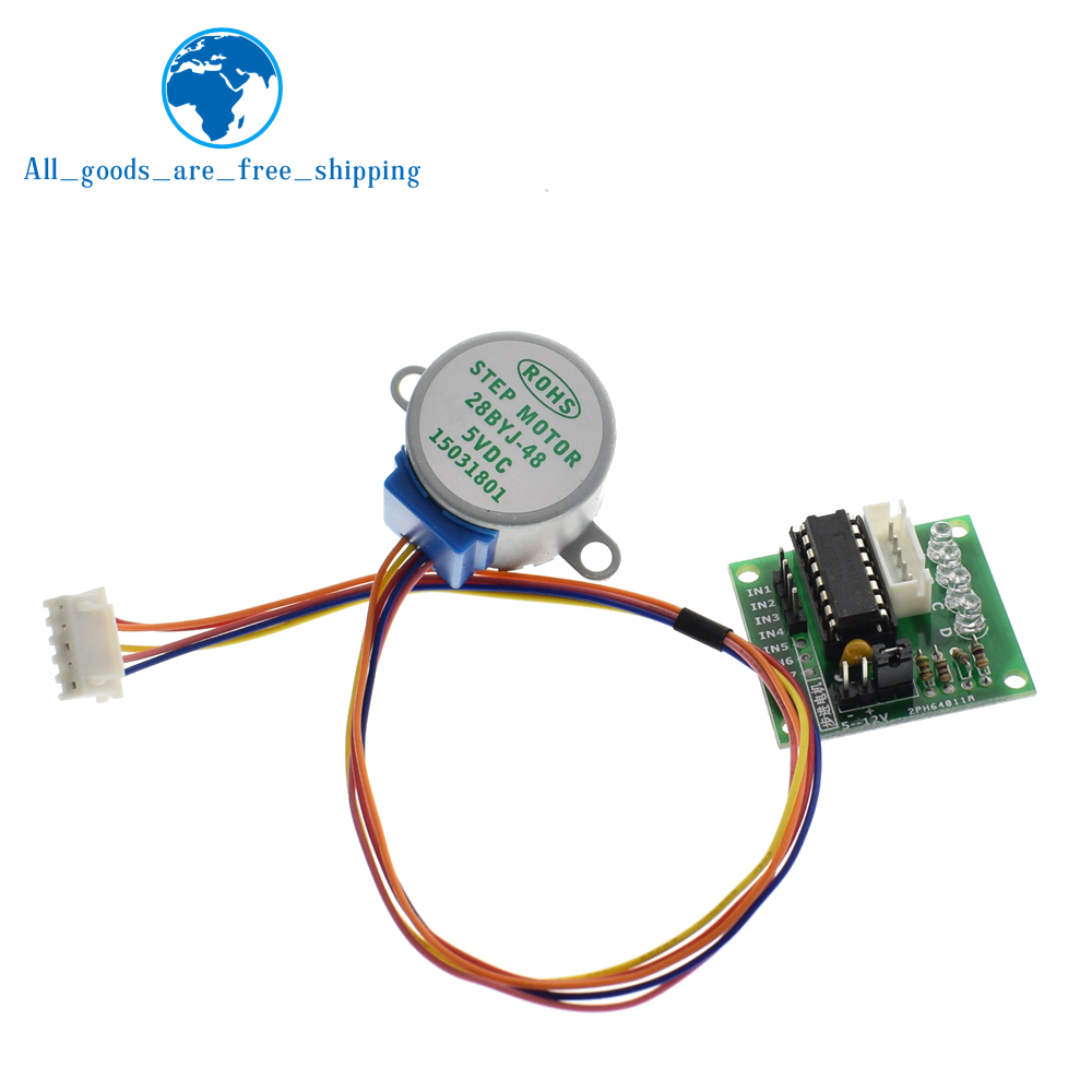 28BYJ-48-5V 4 phase Stepper Motor+ Driver Board ULN2003 for Arduino