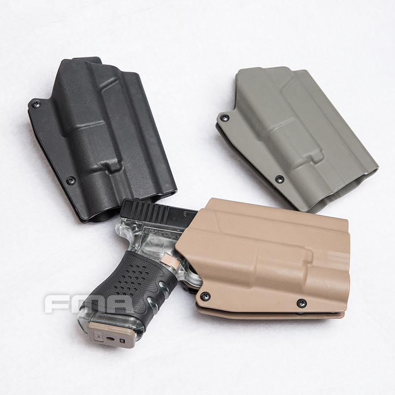 Image 3 - FMA G17L WITH SF Light Bearing Holster Waist Quick Pistol Holster for G17/G19 and X300 lamps 1329-in Holsters from Sports & Entertainment