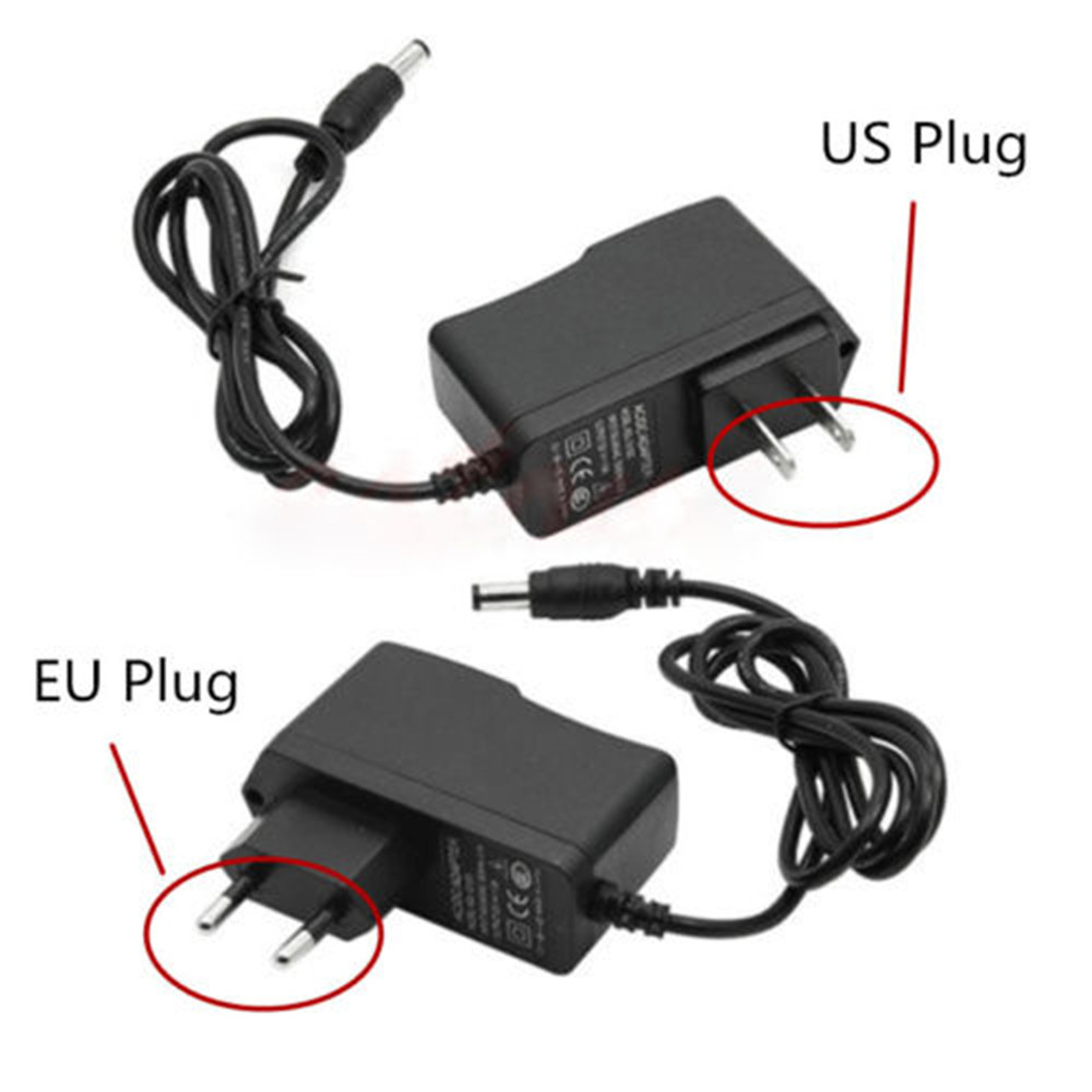 Dynamic New Hot Sale Black High Quality Power Supply Ac100-240v To Dc12v 1a Adapter For 5050 3528 Led Strip Light Us/eu Plug Accessories & Parts