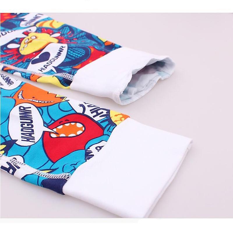 KWAN.Z thermal underwear for men thermos thin section fashion cotton thermal underwear print pajamas winter thermal underwear