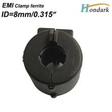 """Внутренний 8 мм 0,3"""" зажим EMI фильтр ферритовый сердечник 16X16X8 мм кабель провода шум отмена Ферритовое кольцо RF дроссель ферритовый шарик, 20 шт./партия"""