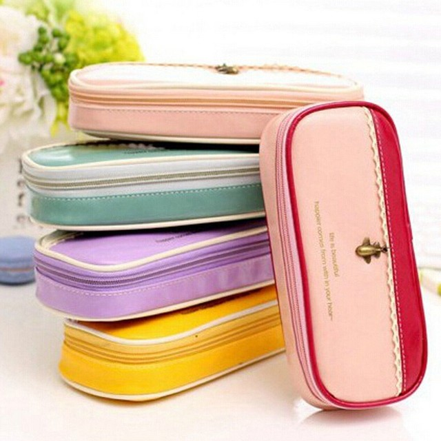 New Arrival Women Makeup Case Pouch Cosmetic Bag Toiletries Travel