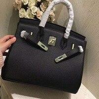 Люксовый бренд Для женщин платины посылка Для женщин сумка натуральная кожа Для женщин мешок платины посылка письмо портативный сумка