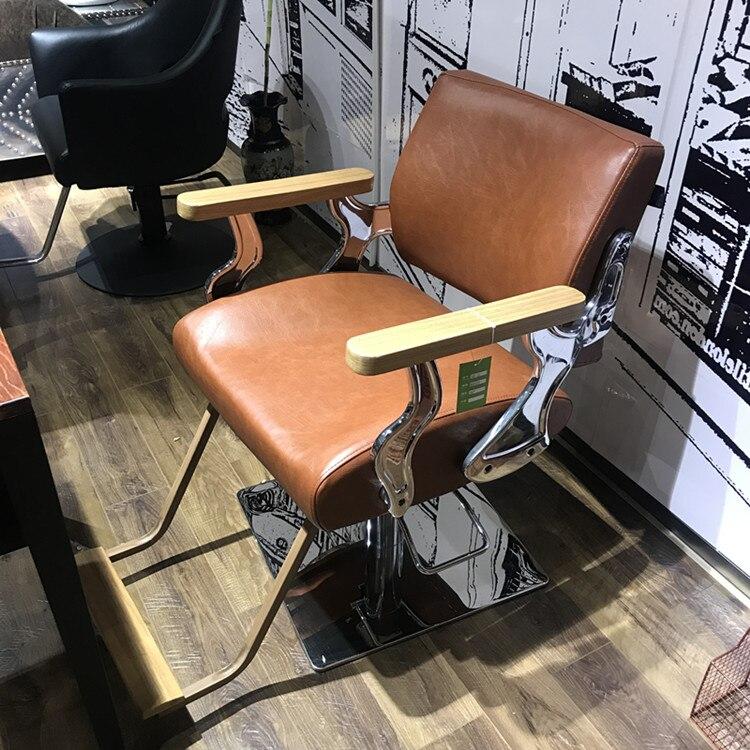 Купить с кэшбэком High grade barber chair hair salon special cut chair hairdressing shop hair chair European style hair chair.
