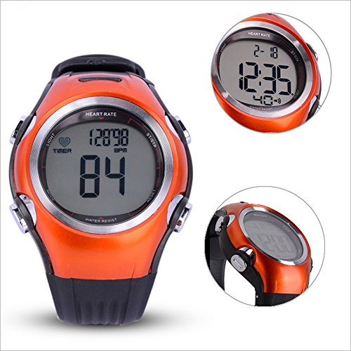 Fitness Heart Rate Monitor Digital polar Watch Tracker Calorie Counter Activity Tracker sport watch new ezon t043 optical sensor heart rate monitor pedometer calorie counter digital sport watch powerd by philips wearable sensing