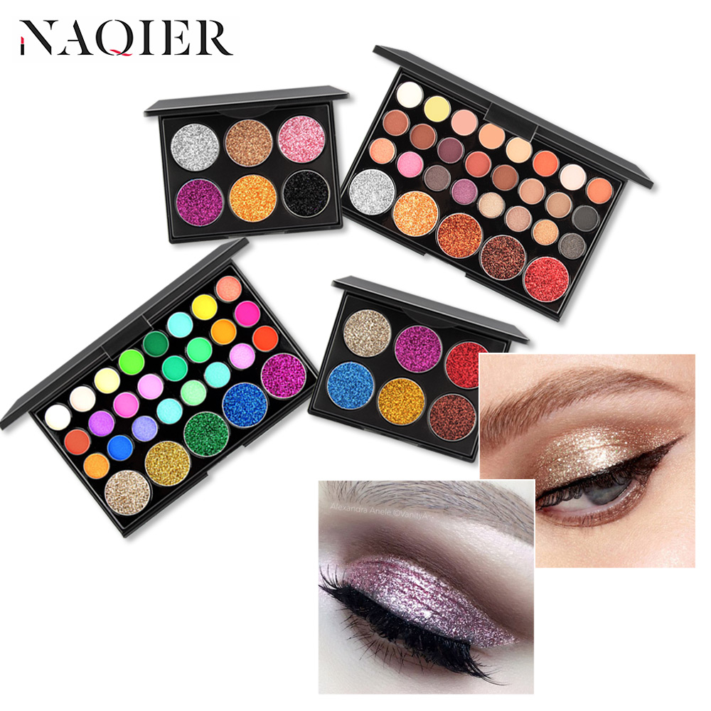 Lovely Eyeshadow Pallete High Pigmented Earth Color Matte Glitter Naked Make Up Eyeshadow Beauty & Health