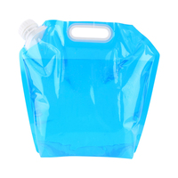 5L/10L Outdoor Party Collective activities Convenient Collapsible Drinking Water Bag Car Water Carrier Container