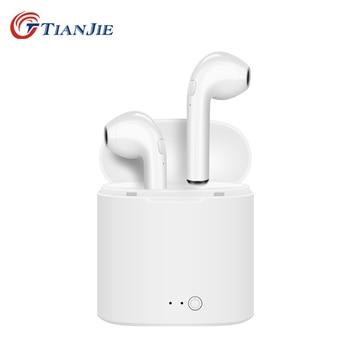 b35a2a0fd3f TIANJIE i7s tws inalámbrica bluetooth mini en la oreja los auriculares  estéreo gemelos auriculares bluetooth auricular