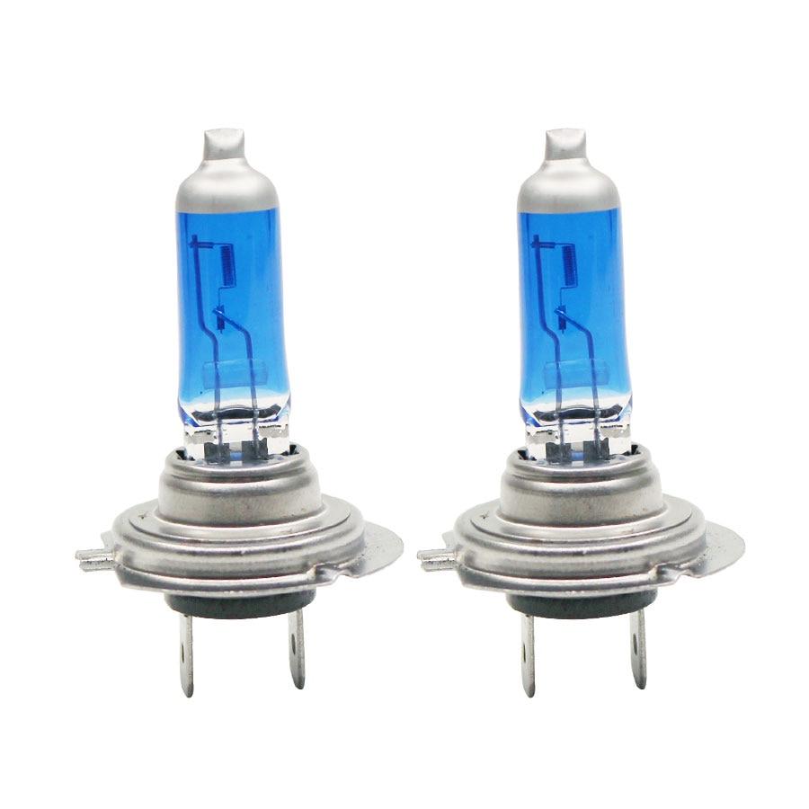 H7 Halogen DRL White Light 6000K 100W 12V Xenon Gas Lamp Headlight Super Fog Light Bulbs Car External Light Source 2PCS/Lot