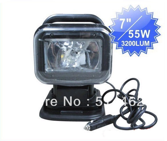 ФОТО Super bright 12V/55W wireless remote controlled Multi-function HID searching light