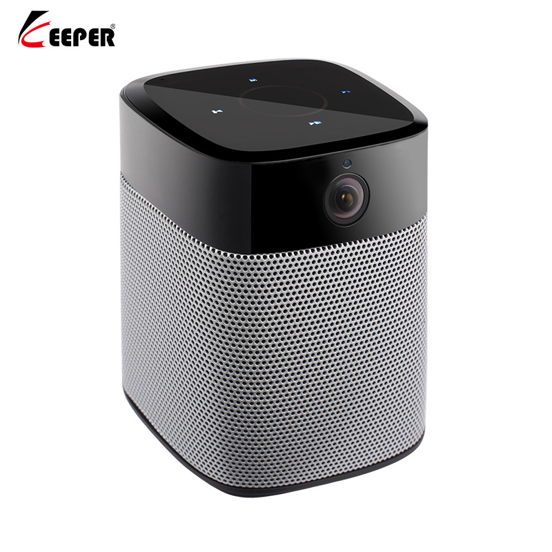 Keeper HD 1080P mini Wifi IP Camera and Bluetooth Speaker Security Camera with Night Vision Two Way Audio Motion Detection