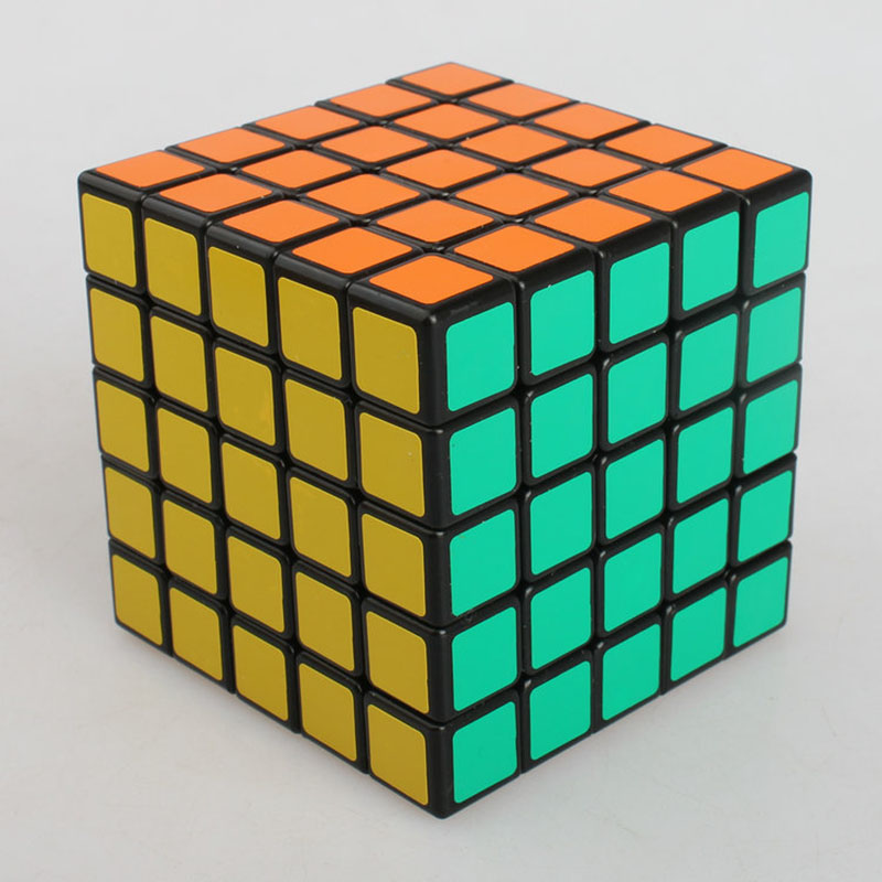 QShun Puzzle Professional Speed Cube Toy Sticker Rubiks