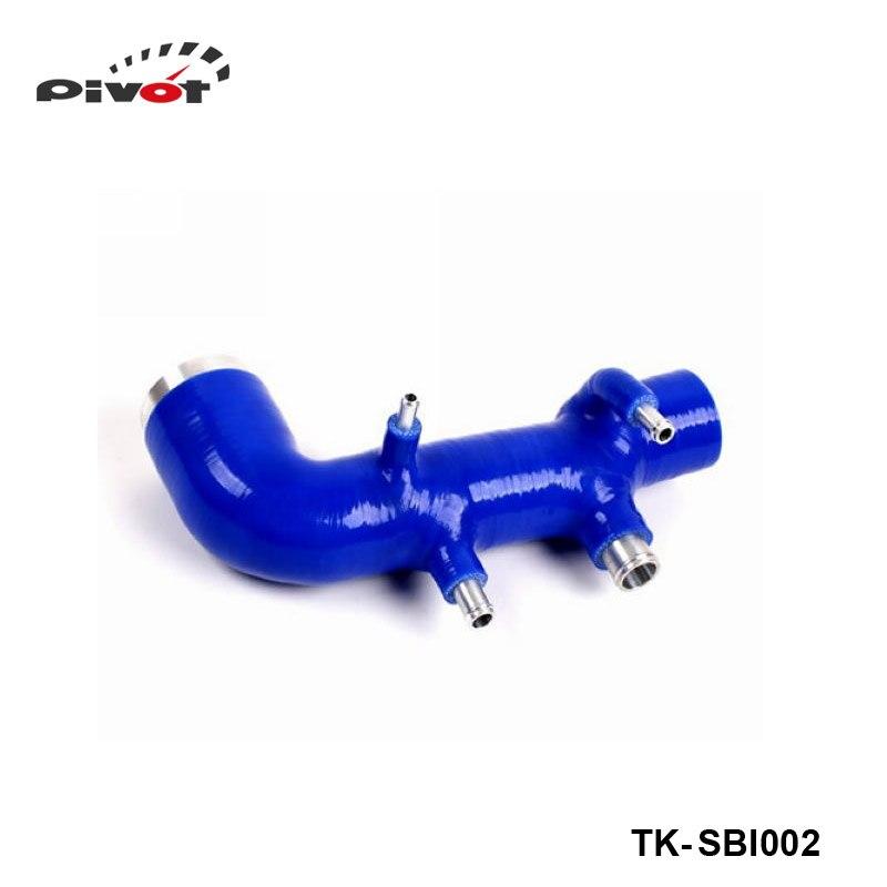 Silicone intercooler Turbo Intake Induction hose kit 1pc For Subaru Impreza WRX 98-00 Ver.5 -6 (1pc) TK-SBI002 hosingtech for subaru impreza wrx grb ej25 07 ver 10 silicone turbo kit