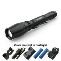 3000 Lumen Zoomble Led Flashlight X900 High Power Cree Xm L T6 Waterproof 5 Mode LED