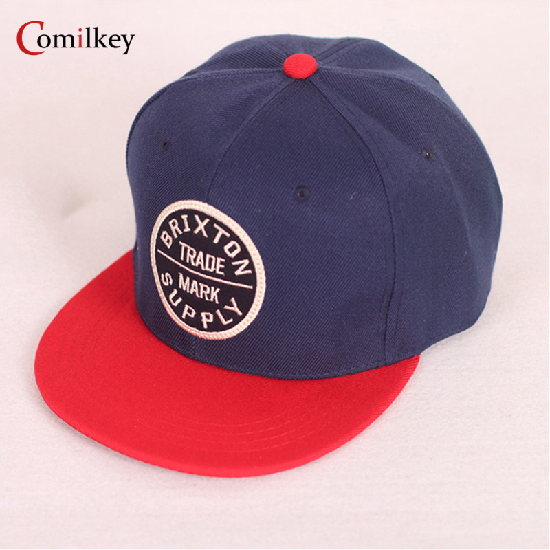 2017 New Fashion Navy Blue Hip Hop Boy Hat Baseball Snapback Girl Cap For Unisex Chance  ...