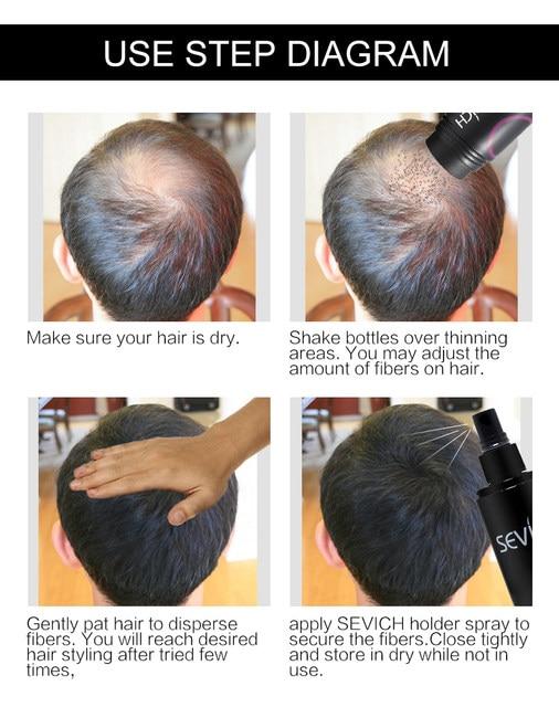 Tienda Online Pelo de queratina de fibra pelucas de extensión de ... 080a425b3658