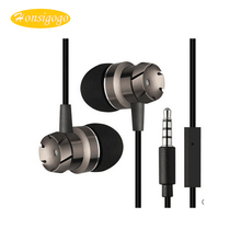hot deal buy honsigogo sport stereo 3.5mm plug earphones bass running noise reduction earbuds with mic for mobile phones mp3/mp4 pc