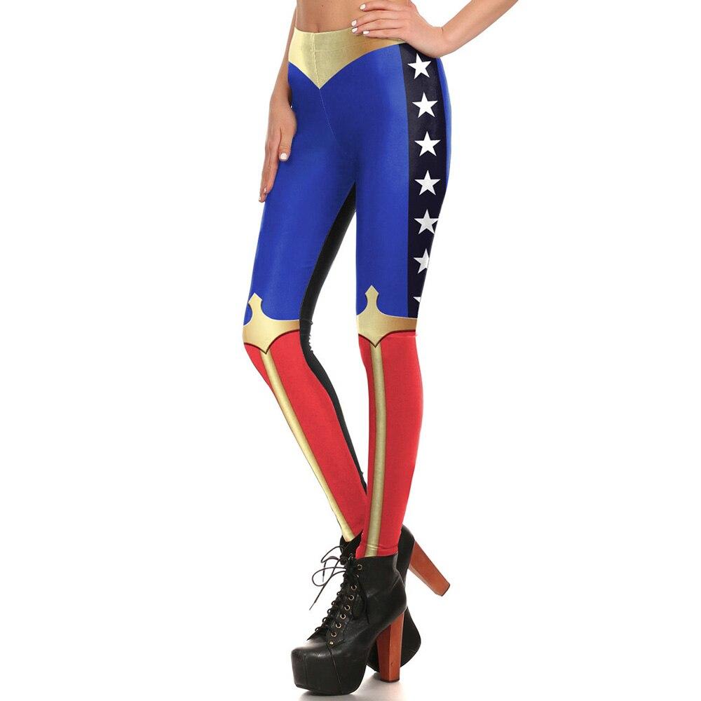 Kdk1692 Sexy Girl Comic Wonder Woman Avengers Cosplay -9157